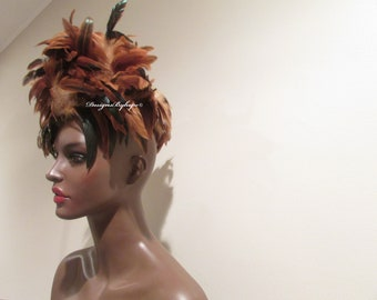 HAUTE COUTURE FASCINATOR       Avant Garde        Women     Hat         High Fashion