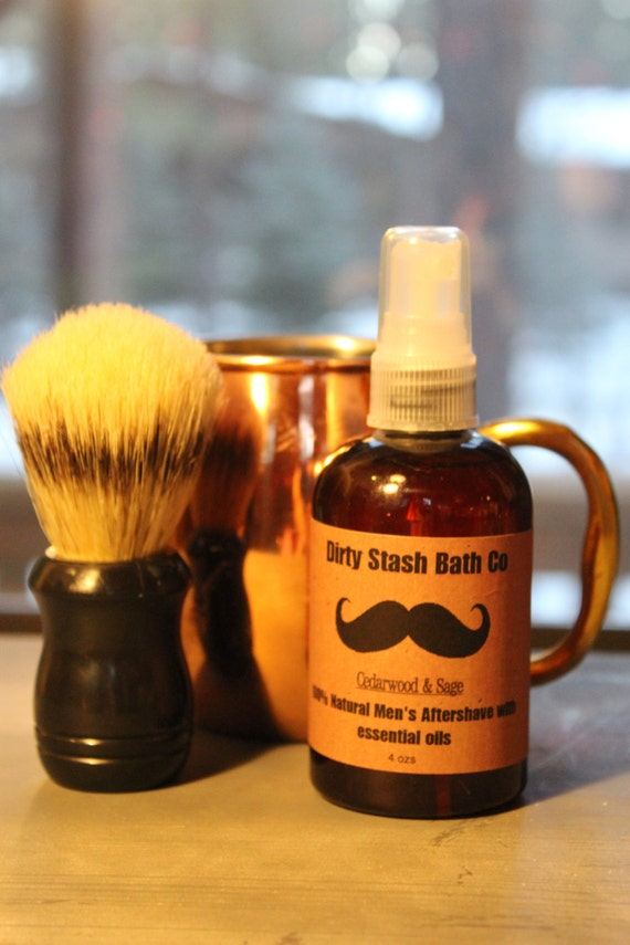 Moscow Mule Mug Mens Shave Gift Set Organic Shave Soap Eucalyptus Spearmint  essential oils