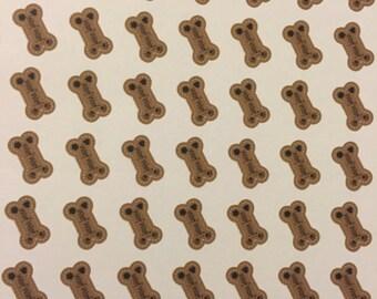 Planner stickers - monthly dog meds