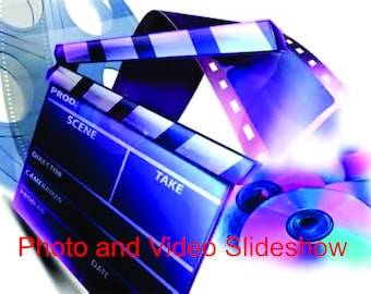 Photo and Video Slideshow - Custom Slideshow and Montage - Standard Package