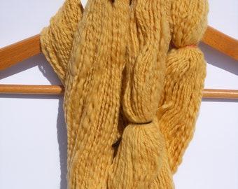 Hand Spun Yarn, think and thin 2 ply, soft yarn