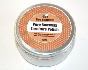 Pure Beeswax Furniture Polish 100g / 200g