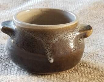 Cute Old Small Stoneware Pot!