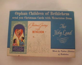 Orphan Children of Bethlehem Christmas Cards with Mementos from the Holy Land, Christian Approach Mission