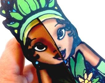 Cajun Princess Frog Paper Doll Set - Printable Toy