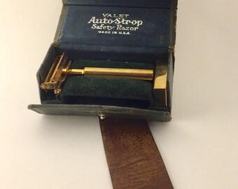 1920's Valet AutoStrop Shaving Kit