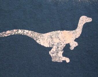 Dinosaur T-shirt Adult Unisex - Crew Style Velociraptor