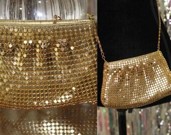 Y & S Gold Handbag Clutch *Excellent Condition