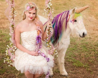 Unicorn horn costume for horse,pony,photography prop,CUSTOM,Pet accessory,