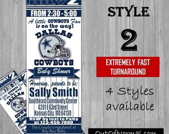 Dallas cowboys party Etsy
