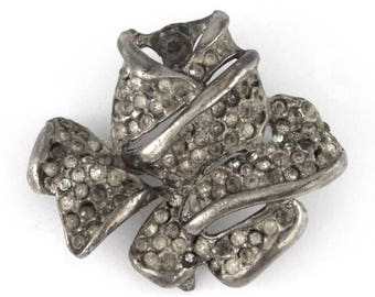 c.1940 - RARE - Designer Vintage Rose Pin / Brooch