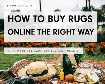 Guide - How to Buy a Rug Online without Getting Ripped Off. How to Score Rug Deals, Pick the Right Rug Size, and More Insider Rug Secrets