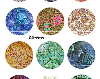 CT46 flowers of the world 12 Images/designs/collage digital 30/25/20/18/16/15/14/12/10/8 mm cabochon round/square/oval
