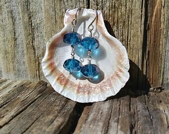 Dainty Blue Glass