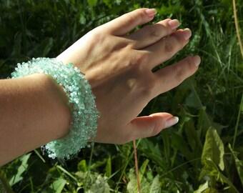 Mothers day gift Jade bracelet gift green bracelet boho jewelry jade beaded jewelry bracelet for mom rustic bracelet jade bridesmaid gift