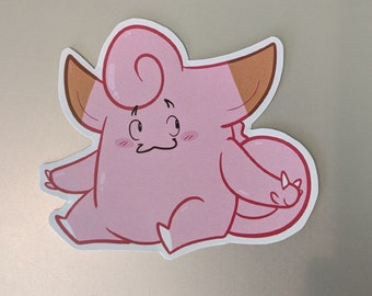 Clefairy Sticker