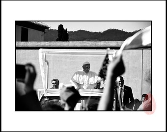 Pope Francis Black and White Photography, Pope Francis Printable Wall Art, Pope Francis Portrait, Download Image Pope, Printable Photo