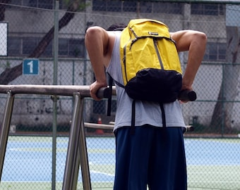 PIPE -T1 backpack (fuctional/lightweight/weatherproof)- Yellow