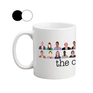 the office mugs. The Office Crew Mugs, Mugs With Sayings, Mug, Mug T