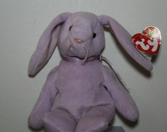 Rare Vintage Floppity Ty Beanie Baby with tags