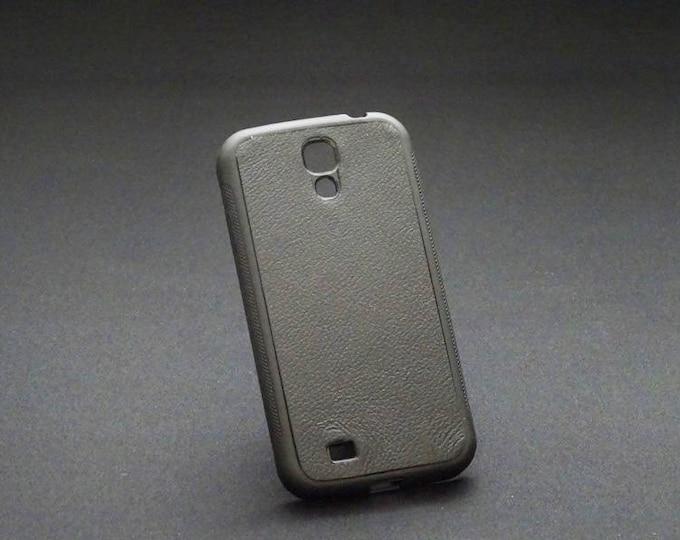 Samsung Galaxy S4 - Jimmy Case in Black - Kangaroo leather - Handmade - James Watson
