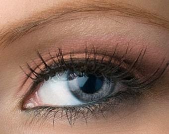 """Matte Pink Eyeshadow - """"Harmony"""" - Nude Brown Pink  - Vegan Mineral Makeup"""