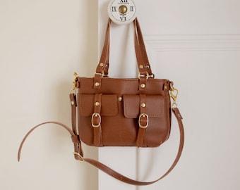 Handmade Dual-Use Bag for BJD 1/3 sized (Coffee)