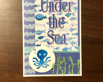 Under the sea, card