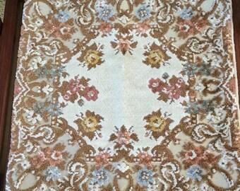 Lovely Vintage Crushed Velvet/Tapestry Pillow Case Cover-Decorative/Throw/Chair/Bedding-Ambrose Art Linens Belgium