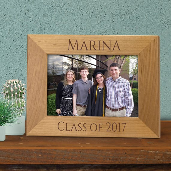 Graduation Class of 2018 Frame, Graduation Gift, Personalized ...