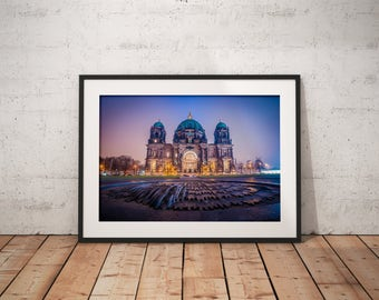 Berlin Dom cathedral, Germany - Physical fine art photography print