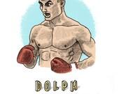 Dolph Lundgren Print...