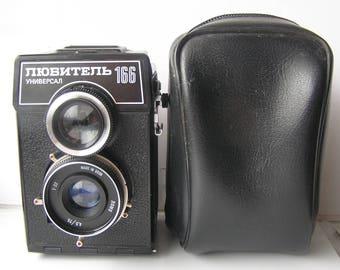LOMO PHOTO Camera Ussr LUBITEL 166  Universal