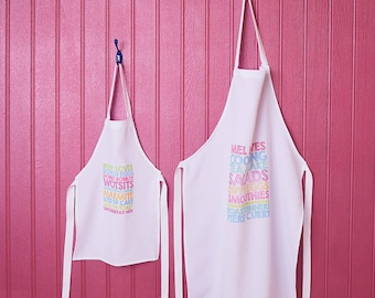 Personalised Child's apron