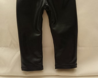 Leather Looking Pants for an 18 Inch Doll such as the American Girl
