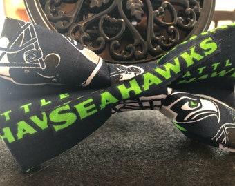 Seattle Seahawks (human) bow tie