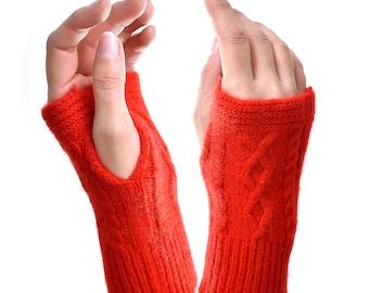 cashmere glove mitten withount fingers