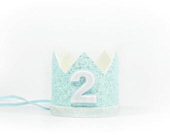 Second Birthday Boy Crown | Boy 2nd Birthday Crown | Boy Birthday Outfit | Boy Second Birthday Party Hat | Boy Girl Birthday Crown