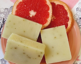 Grapefruit Mangosteen Bar of  Soap