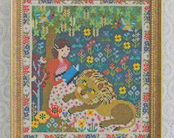 Modern Cross Stitch Pattern | Gera! Counted Cross Stitch Pattern by Kyoko Maruoka - PRIDE and PREJUDICE
