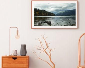 Whitefish Lake - Whitefish, Montana - Color Fine Art Photo Print