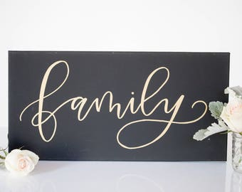 Family - Canvas