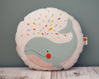Small Pillow Whale bio