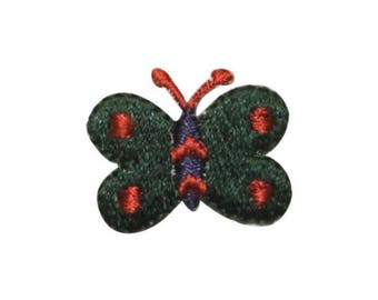 ID 2157D Cute Butterfly Patch Garden Bug Fairy Fly Embroidered Iron On Applique
