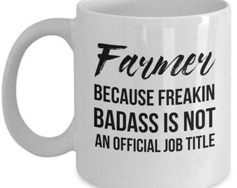 Farmer, Farmer Gift, Farmer Mug, Gift For Farmer, Personalized Farmer, Funny Farmer, Coffee Mug, Country mug,Farming, Farmer present