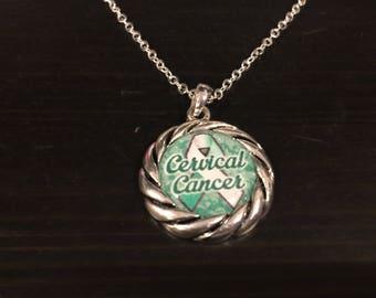 Cervical Cancer Awareness Necklace