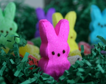 Easter Peeps Hanging Out