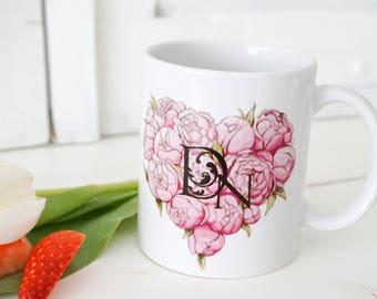 Cup Porcelain Heart
