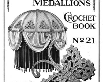 Crochet Book Flapper Era Lamp Shade Patterns 1922