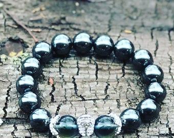 Aqua aura Pharoah Bracelet